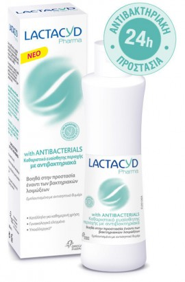 LACTACYD PHARMA WITH ANTIBACTERIALS 250m …