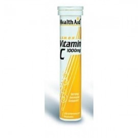 HEALTH AID VITAMIN C 1000mg LEMON 20tabs