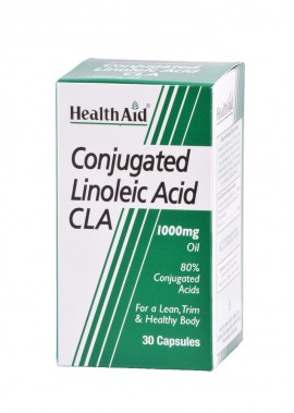 HEALTH AID CLA LINOLEIC ACID 30caps
