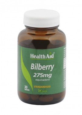 HEALTH AID BILBERRY BERRY EXTRACT 275mg …