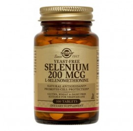 SOLGAR SELENIUM 200mg 100softgels