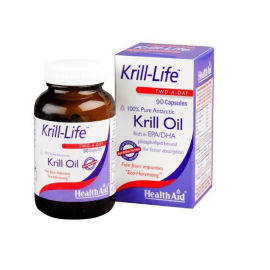 HEALTH AID KRILL LIFE OIL 500mg 90caps