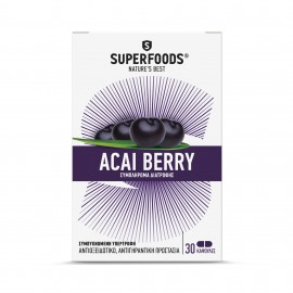 SUPERFOODS ACAI BERRY 300mg 30caps