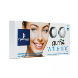 MY ELEMENTS GUM 4 WHITENING 10τεμ.