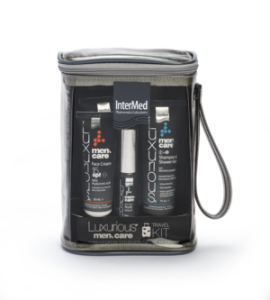 LUXURIOUS MENS CARE TRAVEL KIT 5τεμ.