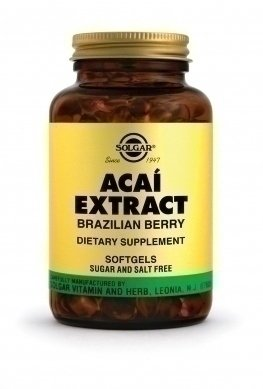 SOLGAR ACAI EXTRACT 60softgels