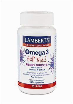 LAMBERTS OMEGA 3 FOR KIDS 100caps