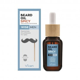 VICAN WISE MEN - BEARD OIL SPICY ΕΛΑΙΟ Φ …