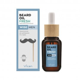 VICAN WISE MEN - BEARD OIL FRESH ΕΛΑΙΟ Φ …