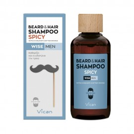 VICAN WISE MEN - BEARD & HAIR SHAMPOO SP …