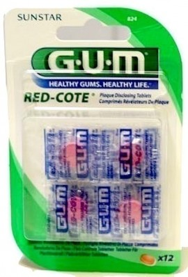 GUM RED COTE ΔΙΣΚΙΑ 12tabs