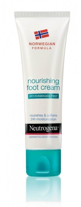 NEUTROGENA NOURISHING FOOT CREAM 100ml