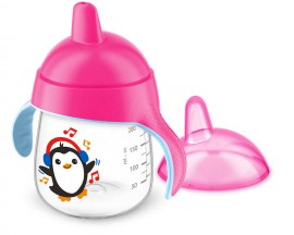 AVENT CUP WITH HANDLES & SPORT 12m + PINK…