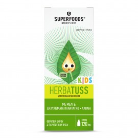 SUPERFOODS HERBATUSS KIDS ΣΙΡΟΠΙ 120ml