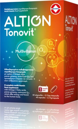 ALTION TONOVIT MULTIVITAMIN ΣΥΜΠΛΗΡΩΜΑ Δ …