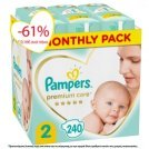 PAMPERS PREMIUM CARE No2 (4-8kg) MONTHLY …