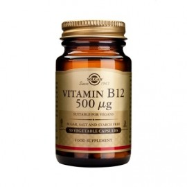 Solgar Vitamin B12 500μg Vegetable 50cap …