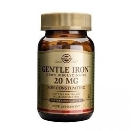 Solgar Gentle Iron 20mg 180vcaps