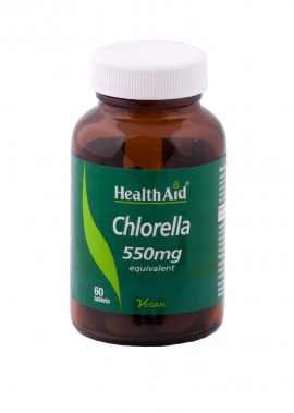 HEALTH AID CHLORELLA 550mg 60tabs
