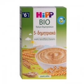 HIPP BABY CREAM WITH 5 CEREALS, WITHOUT…