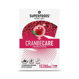 SUPERFOODS CRANBECARE 15.200mg 30caps