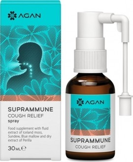 AGAN SUPRAMMUNE COUCH RELIEF SPRAY 30ml