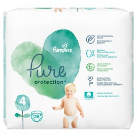 PAMPERS PURE 4 (9-14kg) 28τμχ