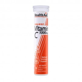 HEALTH AID VITAMIN C 1000mg ΠΟΡΤΟΚΑΛΙ 20 …