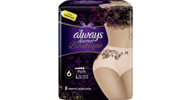 ALWAYS DISCREET BOUTIQUE LARGE PLUS No6 …