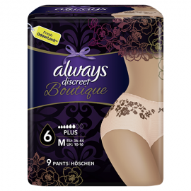 ALWAYS DISCREET BOUTIQUE MEDIUM PLUS No6 …