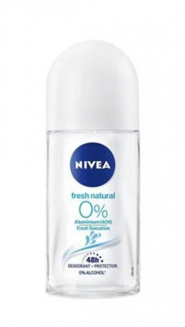 NIVEA DEO ROLL-ON FRESH NATURAL 0% 48h 5 …