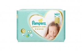 PAMPERS PREMIUM CARE MICRO Νο0 30τμχ