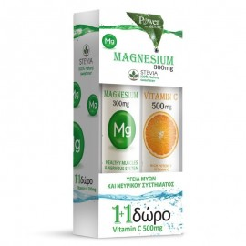 POWER HEALTH MAGNESIUM 300mg STEVIA 20αν …