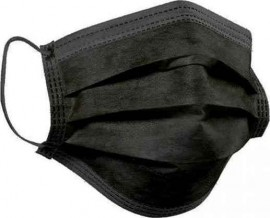 SYNMASK FACE MASK SURGICAL BLACK…