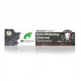 Dr. Organic Charcoal Whitening Toothpast …