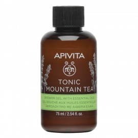 Apivita Tonic Mountain Tea Mini Αφρόλουτ …