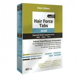 Frezyderm Hair Force Tabs Oral Συμπλήρωμ …