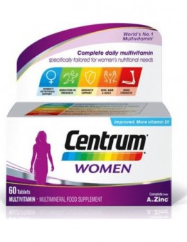 Centrum Women Complete from A to Zinc 60 …