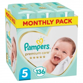 PAMPERS PREMIUM CARE No5 (11-18kg) MONTH …