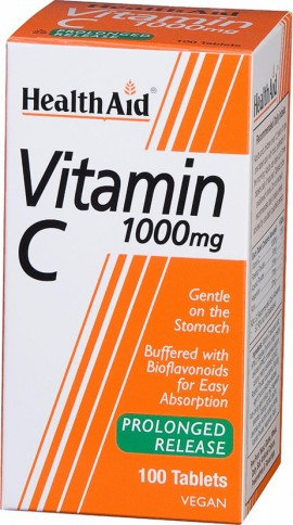 Health Aid Vitamin C 1000mg 100tabs