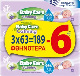 BabyCare Promo Calming Pure Water Καταπρ …