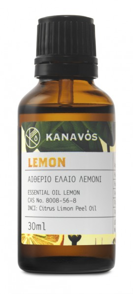 KANAVOS ESSENTIAL OIL LEMON 30ml
