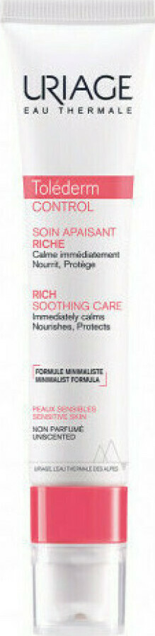 Uriage Tolederm Control Rich Soothing Ca …