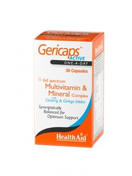 HEALTH AID GERIC.ACTIVE MULT&GINS&GIN 30 …