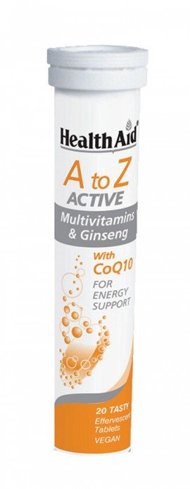 HEALTH AID MULTIVITAMINS A TO Z  ACTIVE …