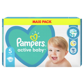 Pampers Active Baby No5 (11-16kg) Maxi 5 …